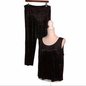 CITRoN of Santa Monica Sz PL Black Pants Suit